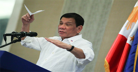 Duterte About Talking with God
