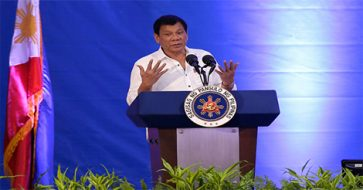 I will protect you, just don't shit with me – Duterte tells cops