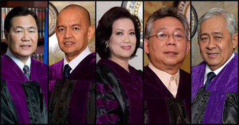 Justices Voted Against Marcos Burial