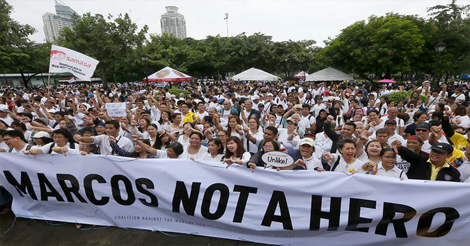 Marcos Burial Protests to Continue