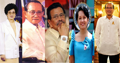 PH Presidents About Marcos Burial