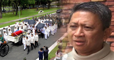 Raymond Fortun Surprise Marcos Burial
