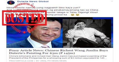 Busted: Duterte thanked Henry Sy after rejecting private jet gift? Fake news alert!