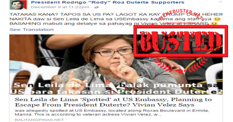 Busted: Fake news site claims Putin condemn LP members as reason PH will 'never move forward'