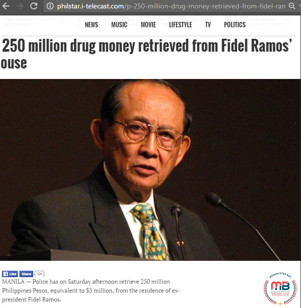 Drug Money Found Ramos House