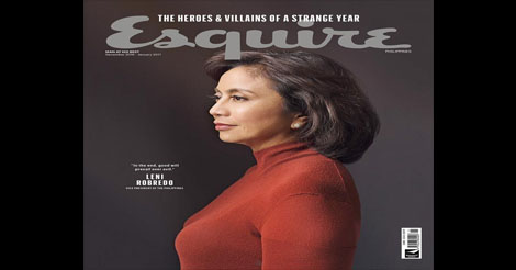 Esquire PH Robredo Mag Cover