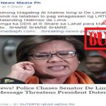 De Lima Chased by Police