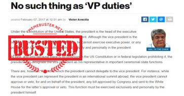 """Busted: Lawyer slams columnist for hitting Robredo's lack of VP duties and being """"given a mansion"""""""