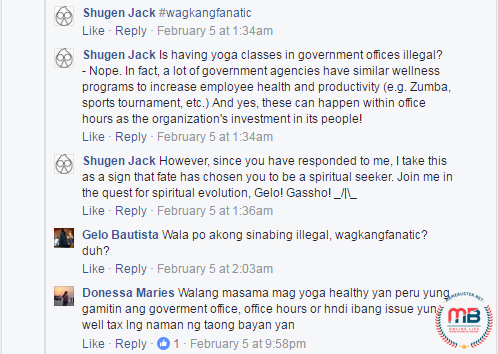 Thinking Pinoy Twisting Robredo Yoga