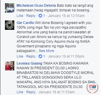 Vic Sotto defending Duterte