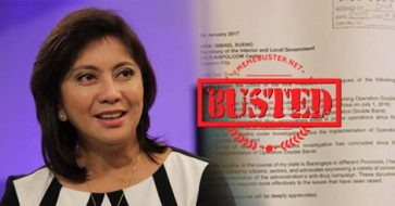 Busted: Robredo's office shows letter to DILG, PNP after PNP chief denies receiving any