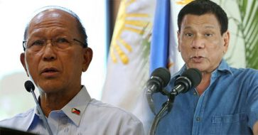 Lorenzana says Duterte briefed after his confusion over Benham Rise as part of West PH Sea
