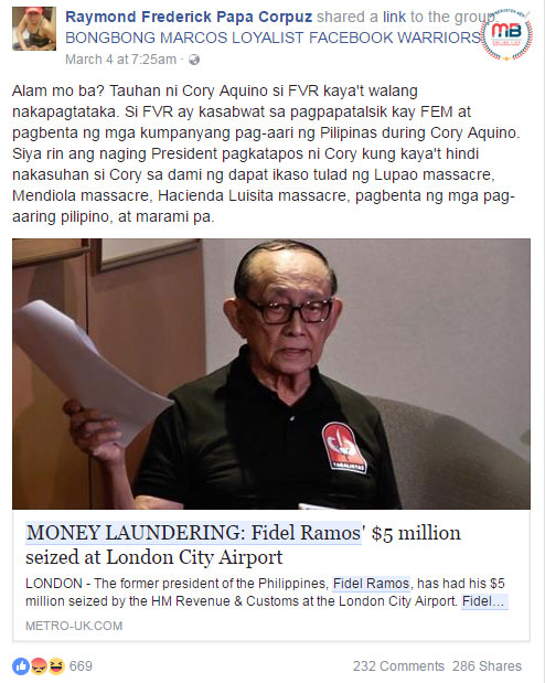 fidel ramos essay The punishment permutation in the philippines fidel ramos, joseph ejercito subtle differences of studying permutations and combinations essay.