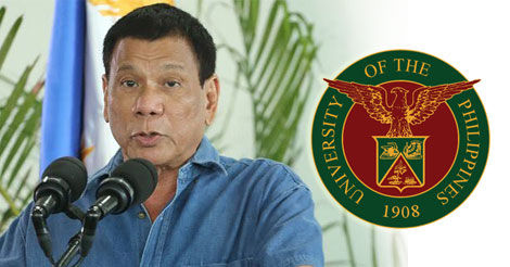 Duterte declined the University of the Philippines offer
