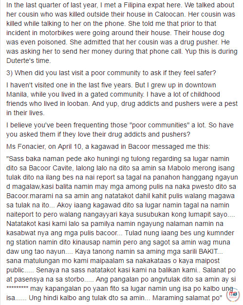 Sass Sasot engage in viral 'Q&A' session