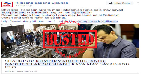 Busted: Trillanes hospitalized over Viagra overdose? Fake news!