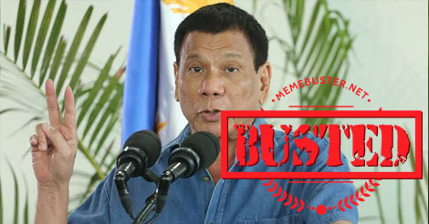 Busted: Duterte will bring home OFWs in Jeddah's death row? Abella said this isn't true