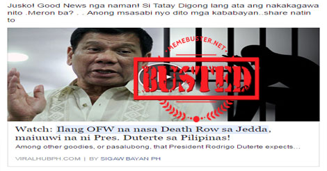 Satirical FB page slams Duterte for saying he'd sell PH land to China