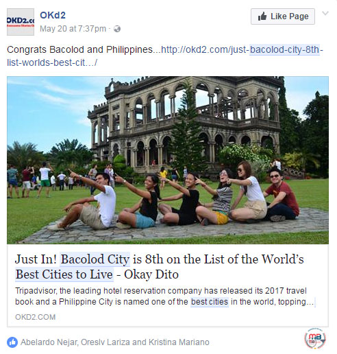 Best Places In The World To Live 2015: Busted: Fake News Site Claims That Bacolod Was 8th On The