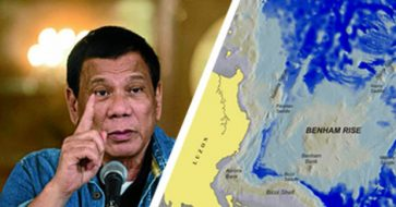 Duterte stays true to his word, signs EO to rename Benham Rise to Philippine Rise