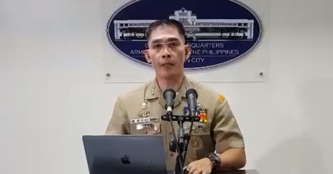 Public Affairs Office Chief Marine Colonel Edgard A. Arevalo
