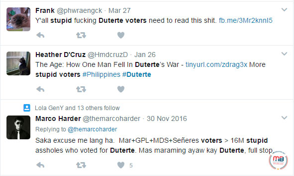 Duterte voters