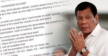 Netizen's post calling Duterte an 'unfit kumander-in-chief' for kowtowing to China goes viral
