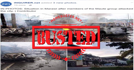 Netizens slam Inquirer for using 2013 photos