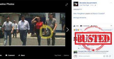 Busted: Pro-Duterte FB page creates 'chismis' by accusing Pangilinan, Hontiveros of 'holding hands while walking' when they're not