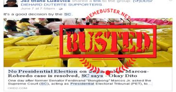 Busted: SC said no 2022 presidential election unless VP election protest is resolved? Fake news alert!