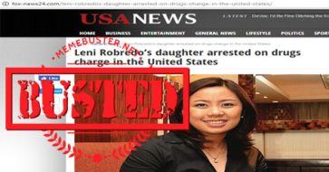 Busted: Aika Robredo arrested on drug charge in the US? Fake news alert!