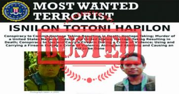Busted: PH's most wanted militant Isnilon Hapilon is not a UP graduate