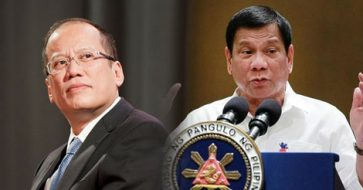 Duterte says 'silly charges' vs. Aquino bound to fail; Aquino surprised Duterte spoke up about his indictment