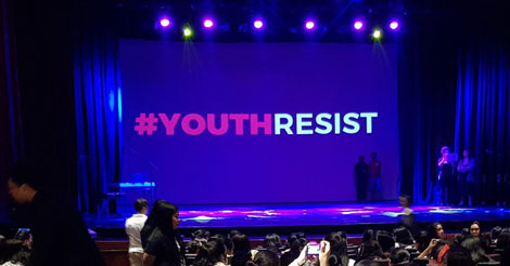 #YouthResist