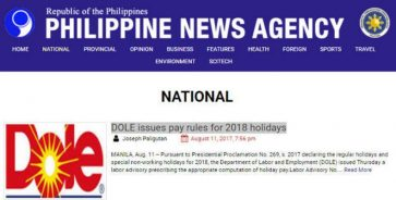 Philippine News Agency hit for using Dole pineapple logo for DOLE-related write-up