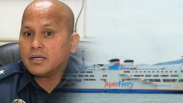 PNP chief on opposition renting 6 ships to bring VisMin protesters to Sept. 21 rally: Negative!