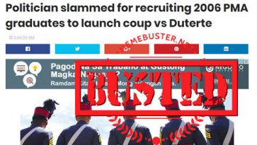 Busted: 'Popular politician' recruiting soldiers for a coup against Duterte? Lorenzana says it's fake news!