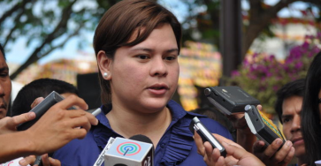 Sara Duterte tells story behind campaign photo with Aquino, Roxas; slams black propaganda