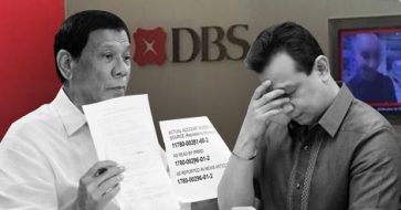 Palace says Duterte's claim that Trillanes closed DBS account online, DBS' reply both unverified