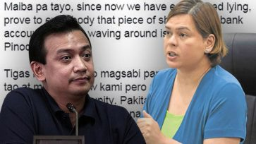 Sara Duterte slams Trillanes: Naconfine ka ba ng matagal sa mental? You are lying