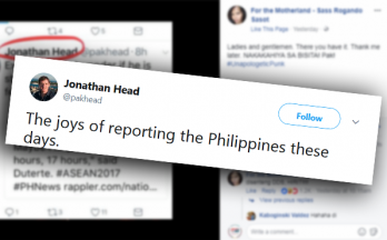 BBC correspondent Jonathan Head on getting bashed: The joys of reporting the PH these days
