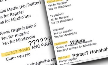 Netizens point out Uson's spelling errors in her FB post