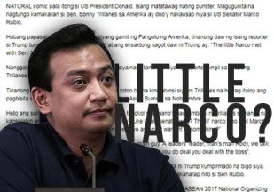 Trump called Trillanes 'little narco'? Columnist apologized; here's what we know about the story