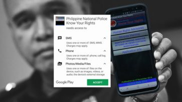 Tech journo raises privacy concerns over PNP human rights app, urges people not to install app