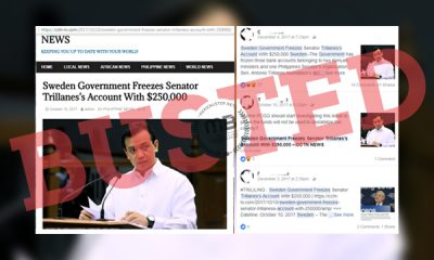 Sweden-froze-Trillanes'-bank-account