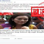 Hontiveros Increase Salaries for Rallyists